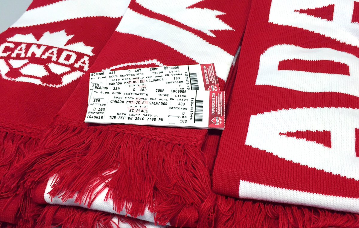 Contest alert! We're giving away #CanadaRED scarves + tix to see #CANMNT at @bcplace Sept. 6. RT to win! #Vancouver https://t.co/21N5GUNCcA