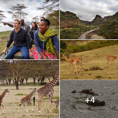 """Visiting Kenya means getting to see amazing natural beauty and wildlife"" - Mark Zuckerberg #MKZinKenya https://t.co/r3R1tdEmYY"