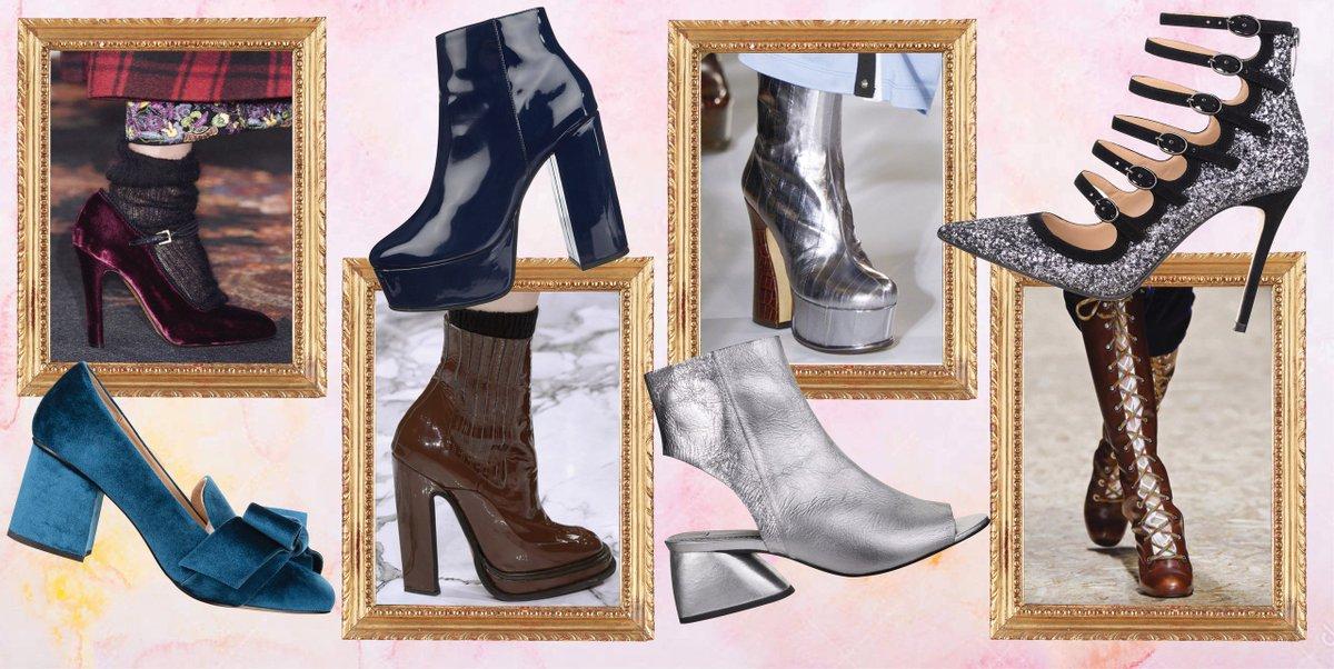 Фото модной обуви на осень-зима