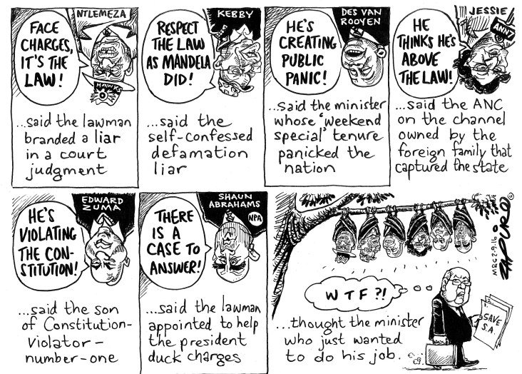 @zapiro @mailandguardian on hypocritical opinions on Pravin Gordhan's response to the Hawks  https://t.co/XfLmLrjr51 https://t.co/fj2vedhnA7