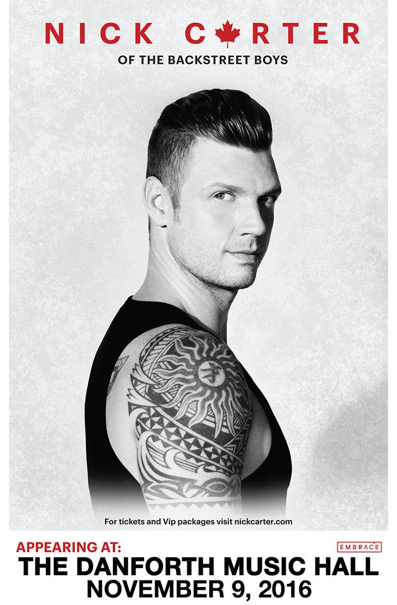 Tickets are now on sale for @nickcarter at @TheDanforthMH on November 9! Get yours now: https://t.co/h77024tSje. https://t.co/uO5gUKzK1t