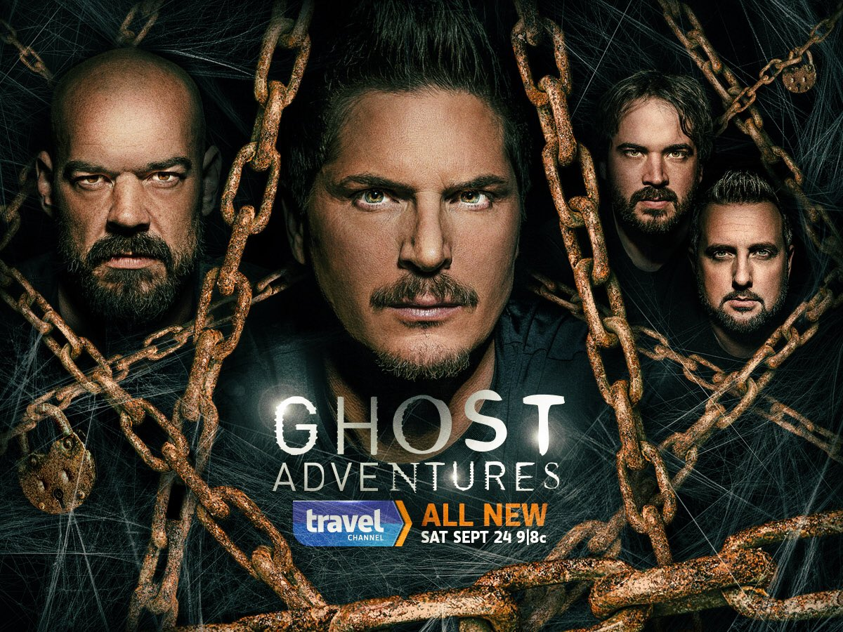 NEW SEASON of #GhostAdventures premiere's September 24th on @travelchannel https://t.co/F8JIhIN4Qx