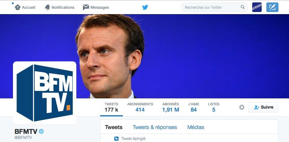 À Acrimed, on aime beaucoup la nouvelle photo de couverture du compte de @BFMTV. Pas vous ? https://t.co/ErejtA3fzy