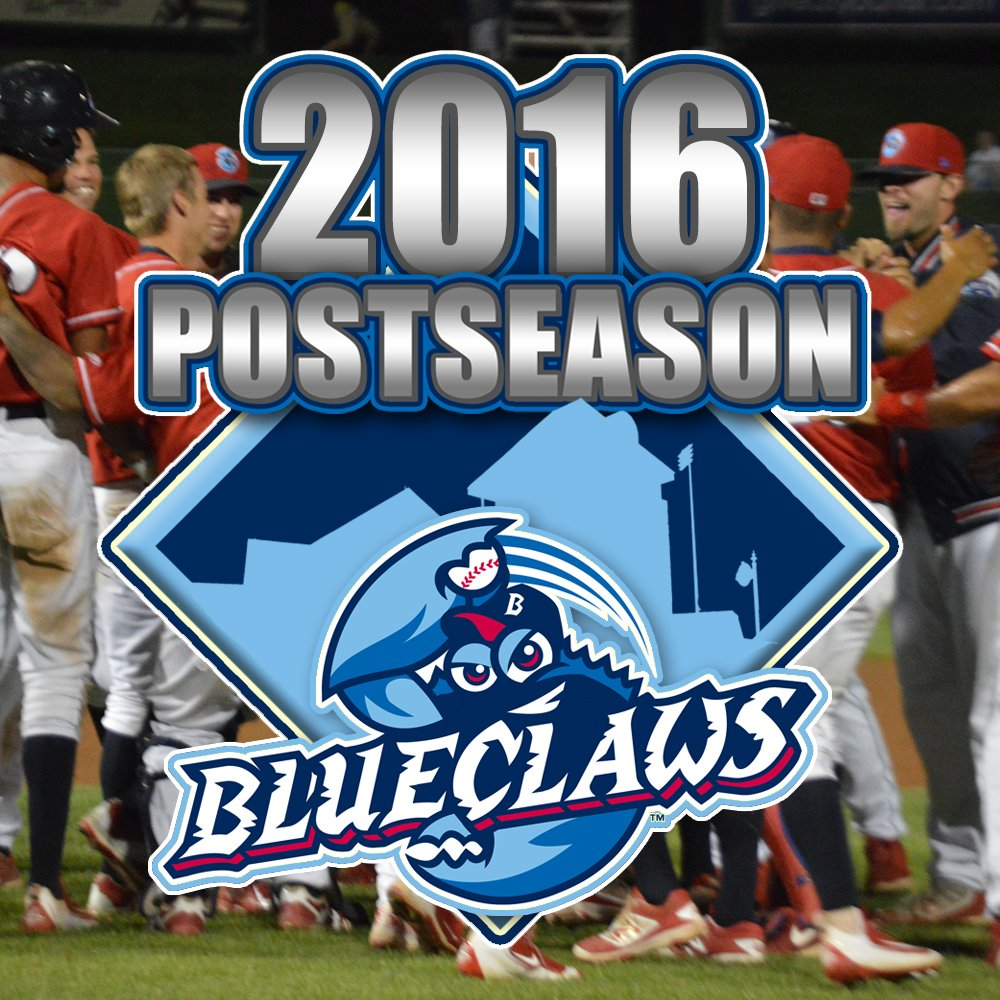 Your BlueClaws are PLAYOFF-BOUND, top Greensboro 10-4 - back in the playoffs for the first time since 2010! https://t.co/OQfJ3mbQ6W