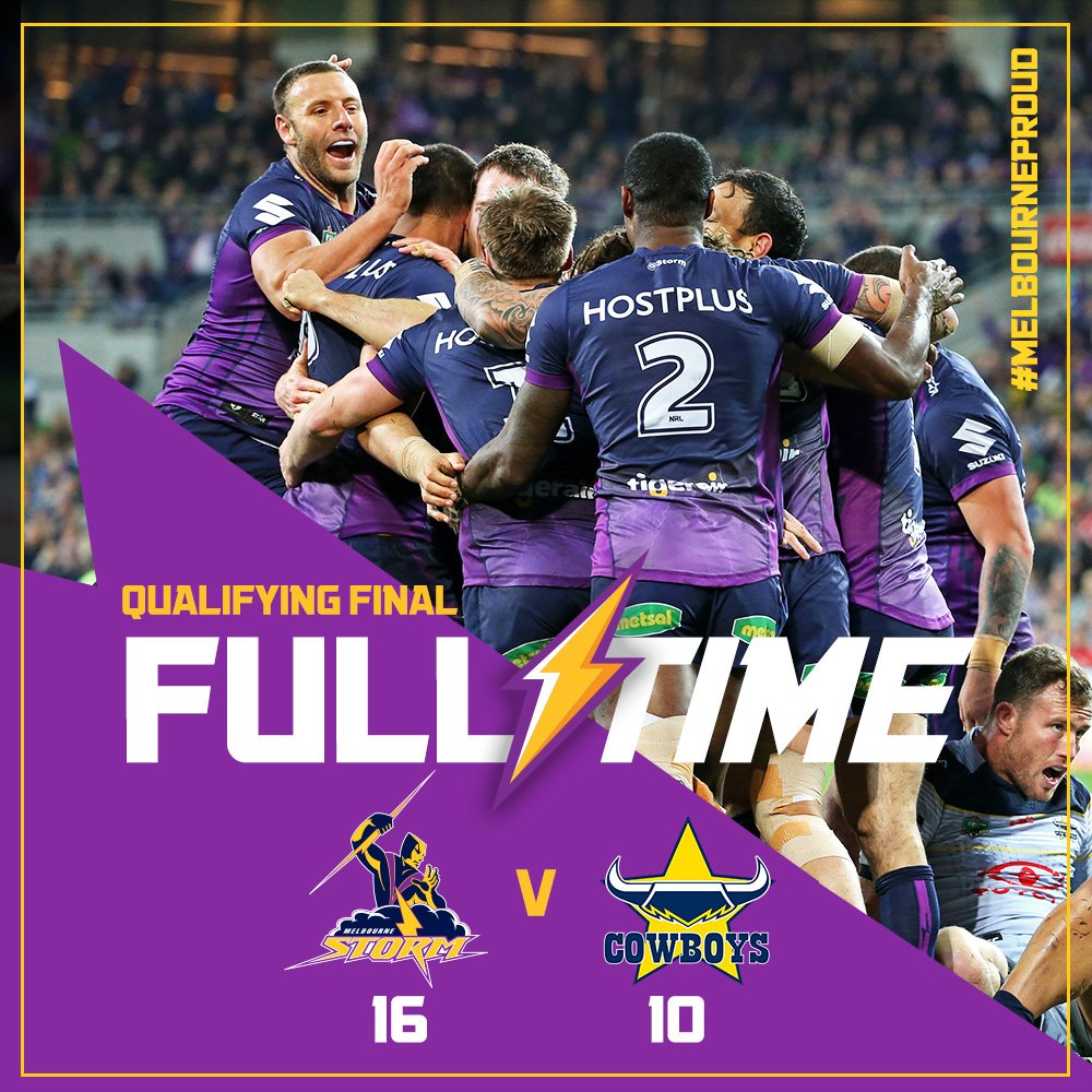 FULL TIME: We'll see you in a prelim at @AAMIPark! #MelbourneProud https://t.co/bkbpDDsWDB