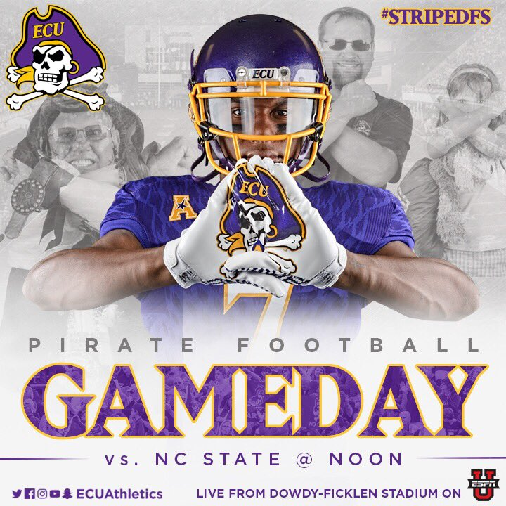 Rise and shine #PirateNation, it's GAMEDAY! https://t.co/UF0ErZSI4r