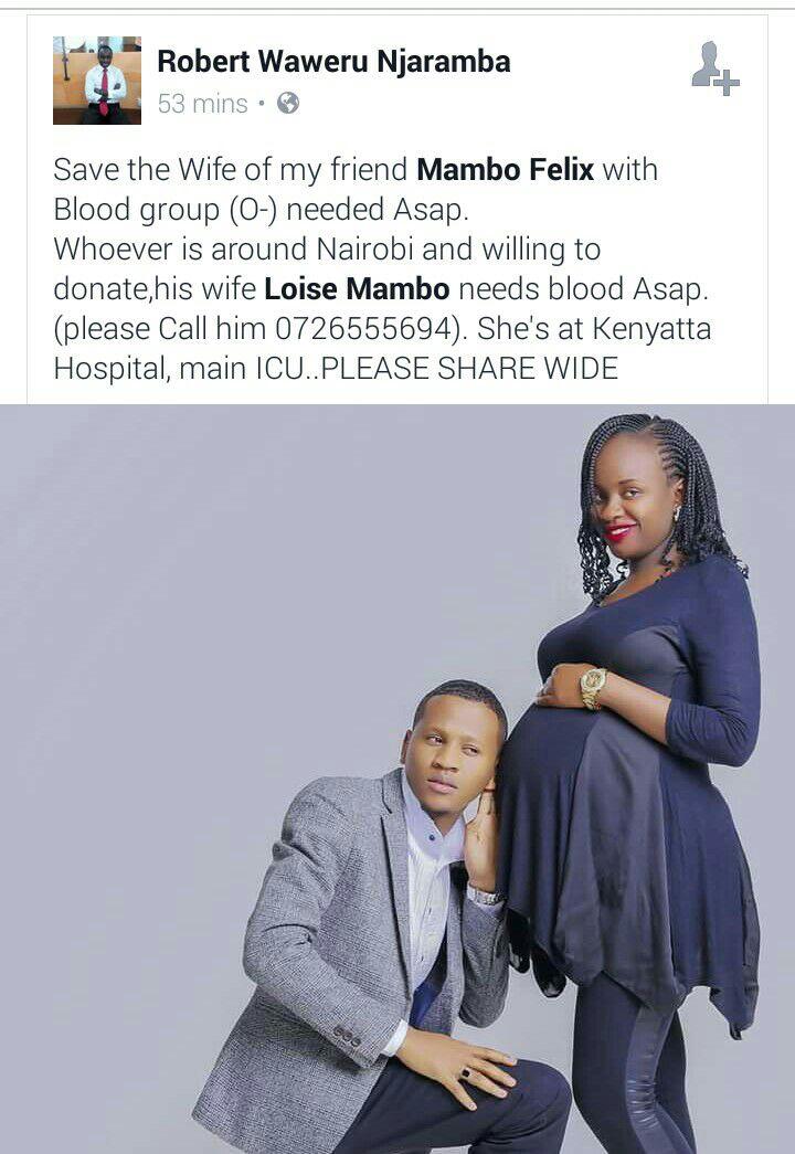 Blood Group O- needed asap. Kenyatta Hospital. Call 0726555694 https://t.co/5dGwqBvPor
