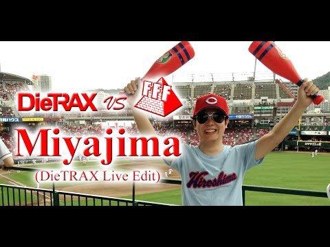 カープ優勝おめでとう!!!  お祝いミックスアップ!!  DieTRAX vs FFF / Miyajima(DieTRAX Live edit)  https://t.co/Z3Km4xdckL  #カープ https://t.co/szQ7k5BJB8