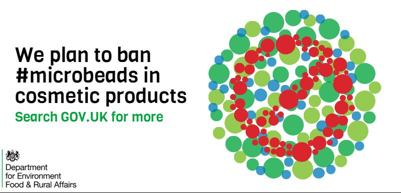 Today we've announced plans to ban #microbeads to protect our marine environment & sea life: https://t.co/9md8NwP5nv https://t.co/8Z0A6vPaHw