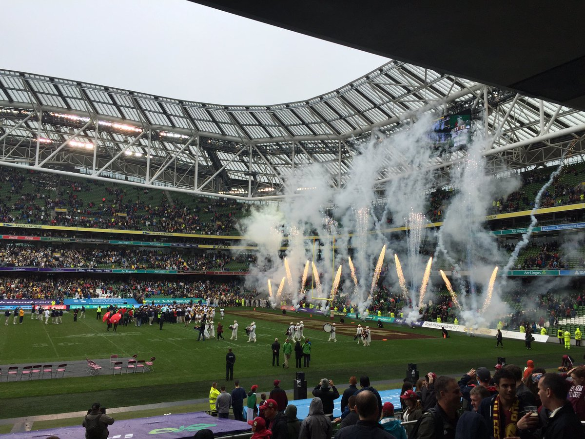 Congrats @GeorgiaTechFB @GeorgiaTech for the win @cfbireland! #GameOnIRE #morethanagame #Dublin #Ireland https://t.co/s93fgQU6xO