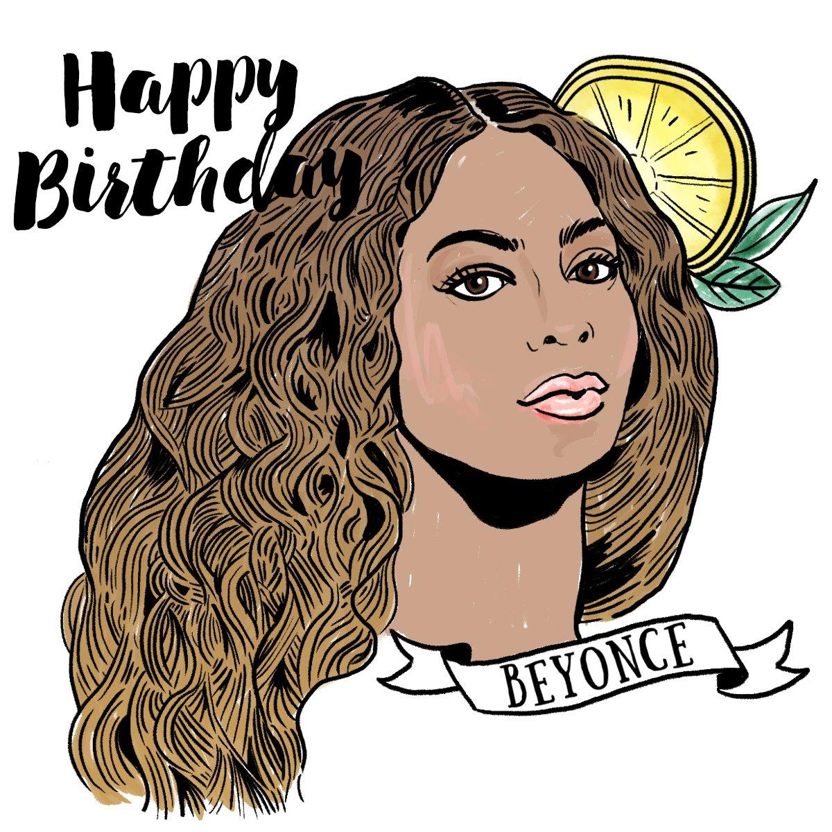 Happy birthday, Beyoncé!!!