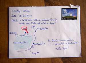 Brief zonder adres maar met routebeschrijving komt gewoon aan op IJsland https://t.co/0C29FNtbvY https://t.co/FWwZO8Oh5H