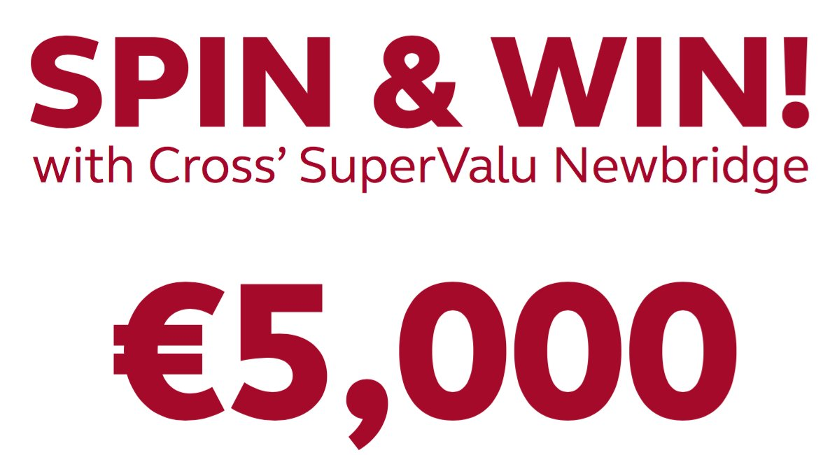 Fancy Winning some real Cash!! Spend in store this week until next Saturday and you could be a winner...€5,000 https://t.co/u3kV64Y63N