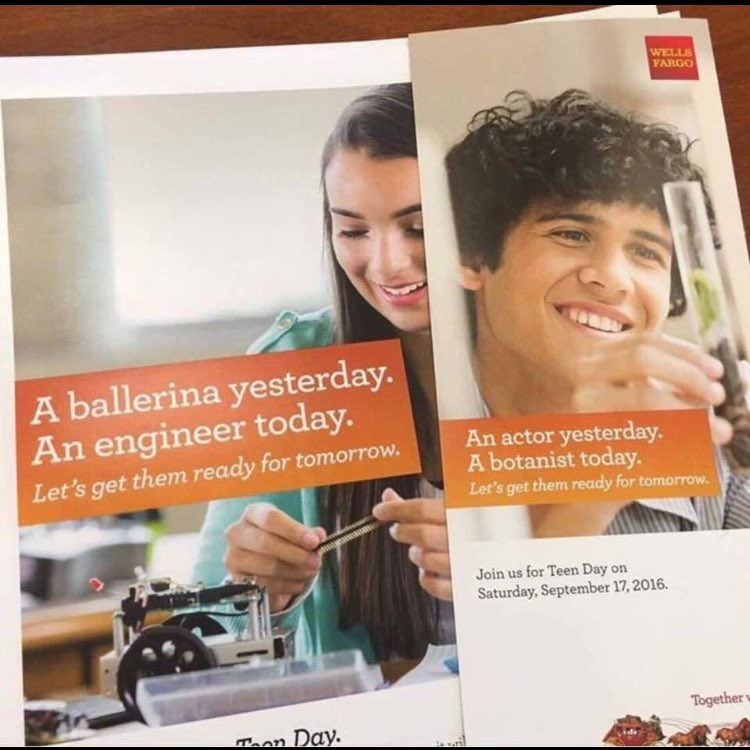 Dear @WellsFargo, BROADWAY WROTE A WHOLE MUSICAL NUMBER ABOUT YOU and THIS is the thanks we get?! #shameonyou https://t.co/uHqL5hK99N