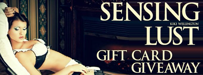 Sensing Lust by Kiki Wellington❤️ Sale, FREE eBook & Gift Card ❤️ (Erotica)