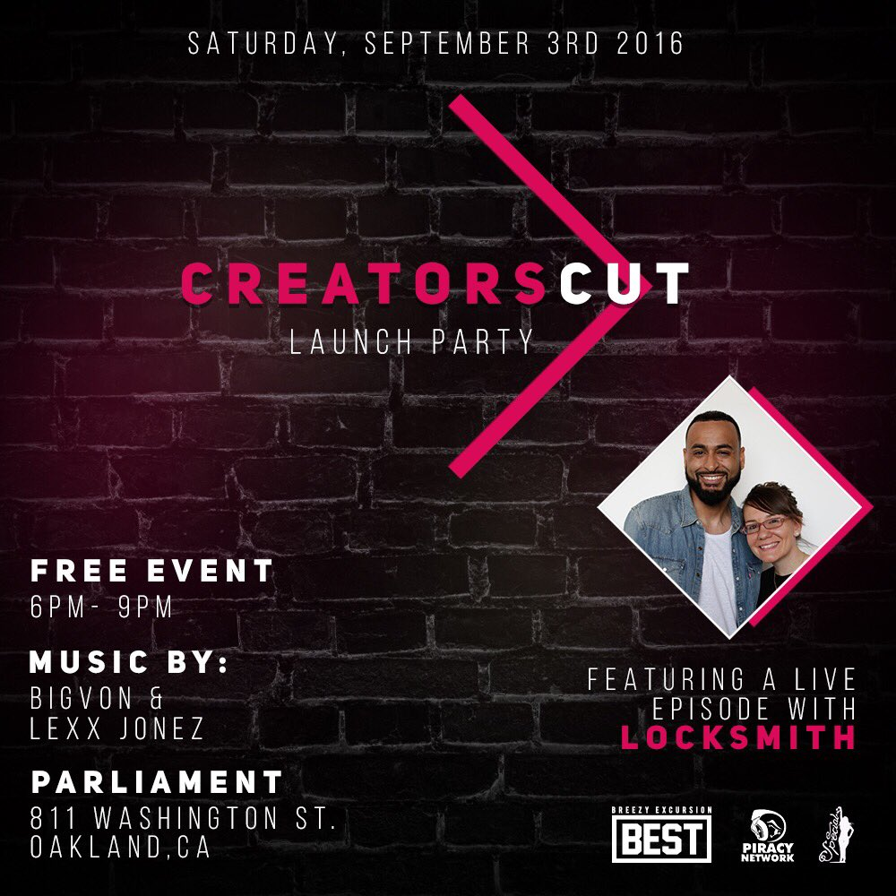 TODAY is it! FREE @811parliament 6-9p come by & bring your friends! Cupcakes, #CreatorsCut w/ @dalocksmith & more https://t.co/vySMKjdjlO