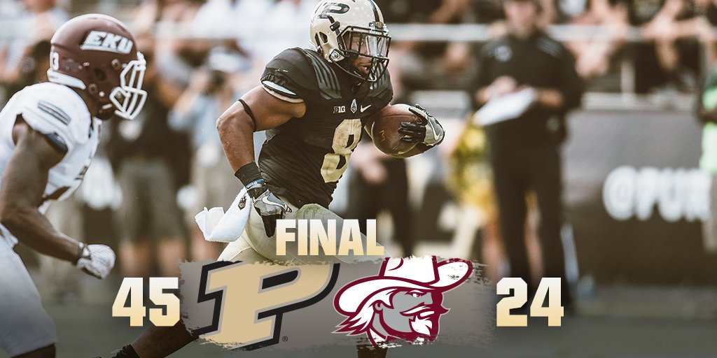 Final from Ross-Ade! #BoilerUp https://t.co/69hqDIccxI