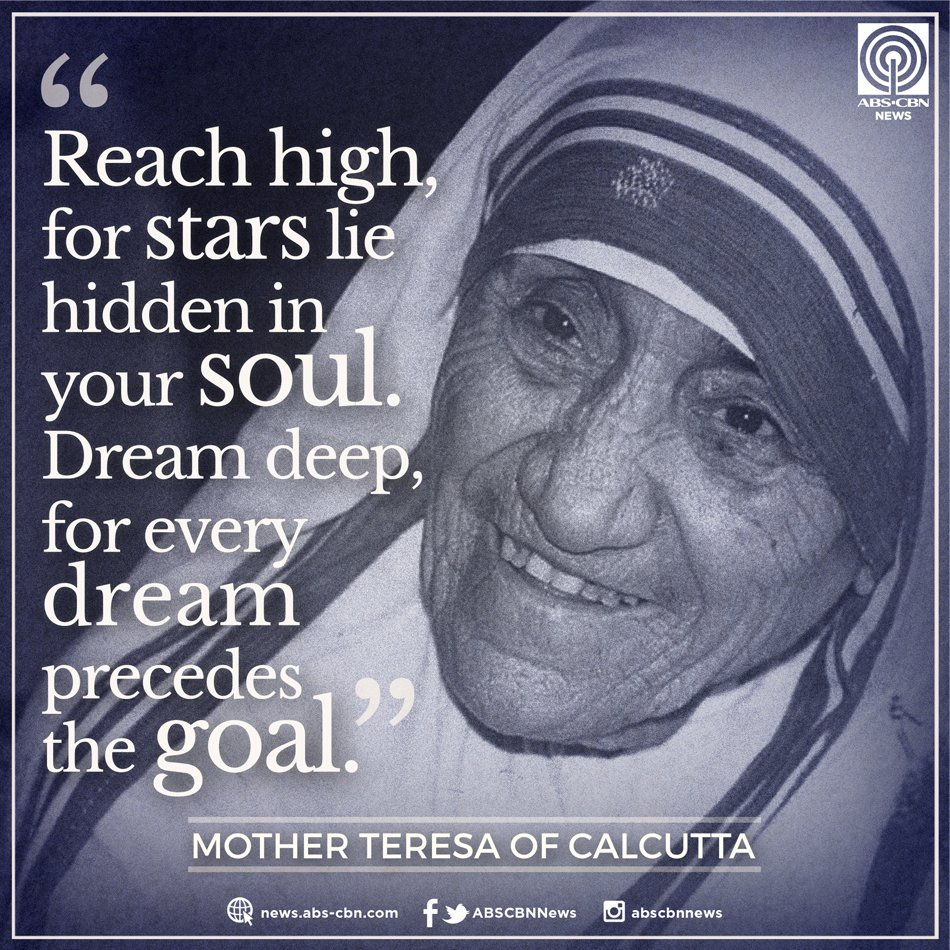mother teresa believed suffering was a gift from god and