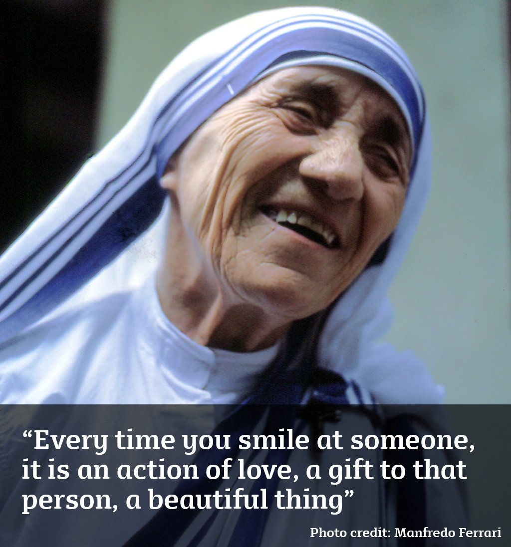 Today we celebrate the canonisation of #MotherTeresa. We #pray for help tackling the causes of poverty around the