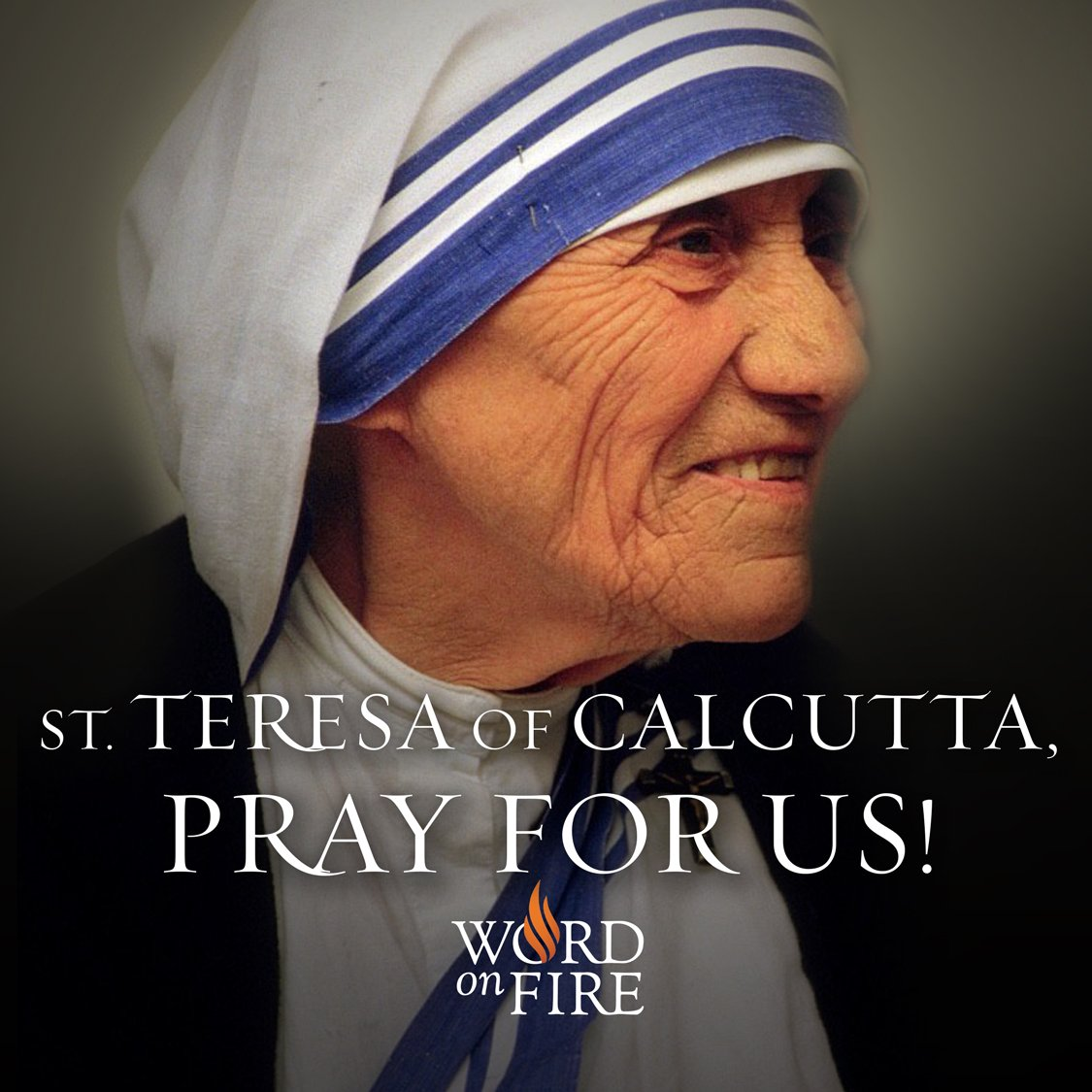 St. Teresa of Calcutta, pray for us! https://t.co/tDXHxA7wWI