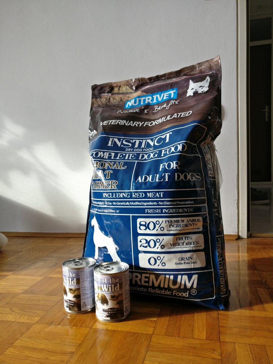 Bi kateremu zavetišču prišlo prav ~11kg briketov in 2x 300g konzerve za pse? Prevzem možen v Lj, točen naslov na DM https://t.co/pysd55bIH0