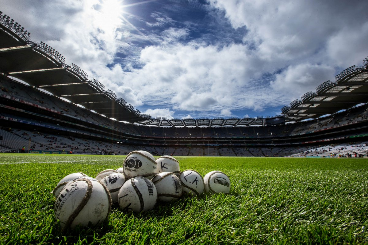 It's almost time. As 80,000 fans descend upon Croke Park, who will be crowned All-Ireland Hurling Champions? https://t.co/TWufBG7QdY