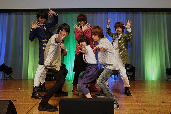 「少年メイド」イベント開催で藤原夏海、島﨑信長らがゲームやトーク!花江夏樹ら「有頂天BOYS」も生歌唱 | Edge L