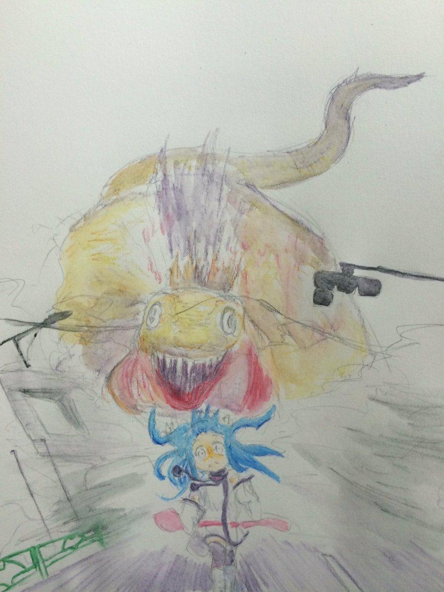 北美祭の会場が京急蒲田の近くと聞いて。助けて、キリゴン! #そらメソ版深夜の真剣お絵描き60分一本勝負#sorameso