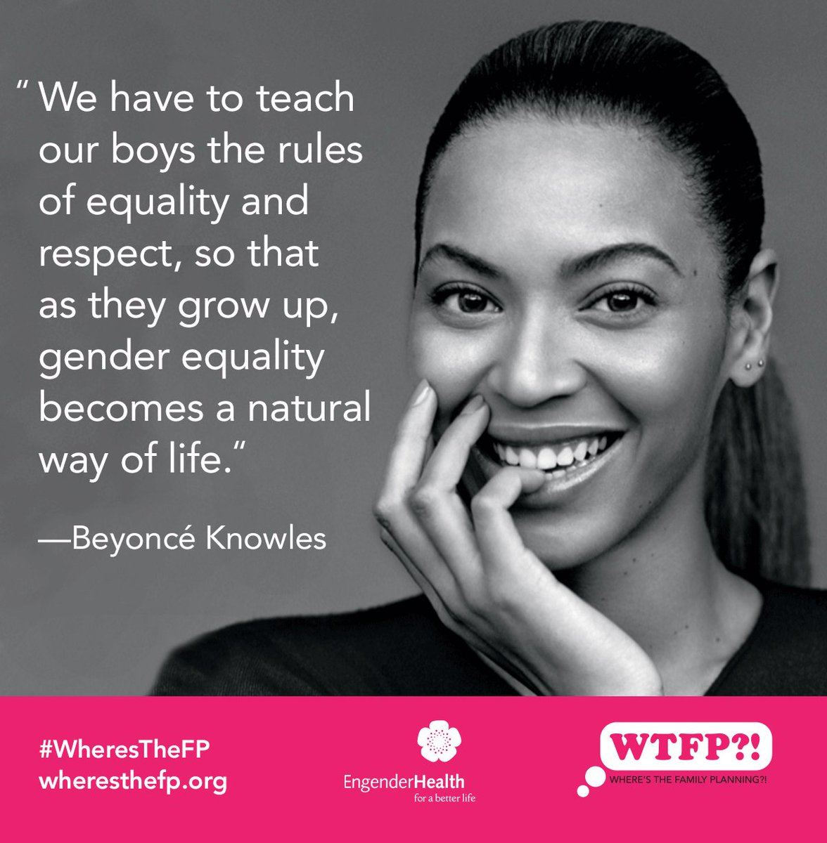 Happy Birthday, Beyoncé! Thanks for being a fab women's & girls' advocate! Who runs the world? #BeyGood #WheresTheFP https://t.co/e9qRzzcP0x