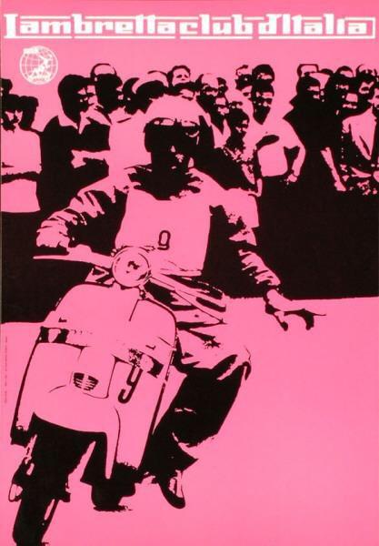 Heinz Waibl, Lambretta Club d'Italia, 1959. Scooter #FontSunday @DesignMuseum #adoptanobject https://t.co/7C0roQa0NT