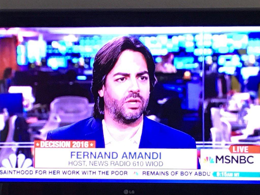 My boy @AmandiOnAir on the BEST News Show on TV #AMJoy with @JoyAnnReid #@MSNBC @amjoyshow 10A ET Sat & Sun https://t.co/sP0xGXrowL