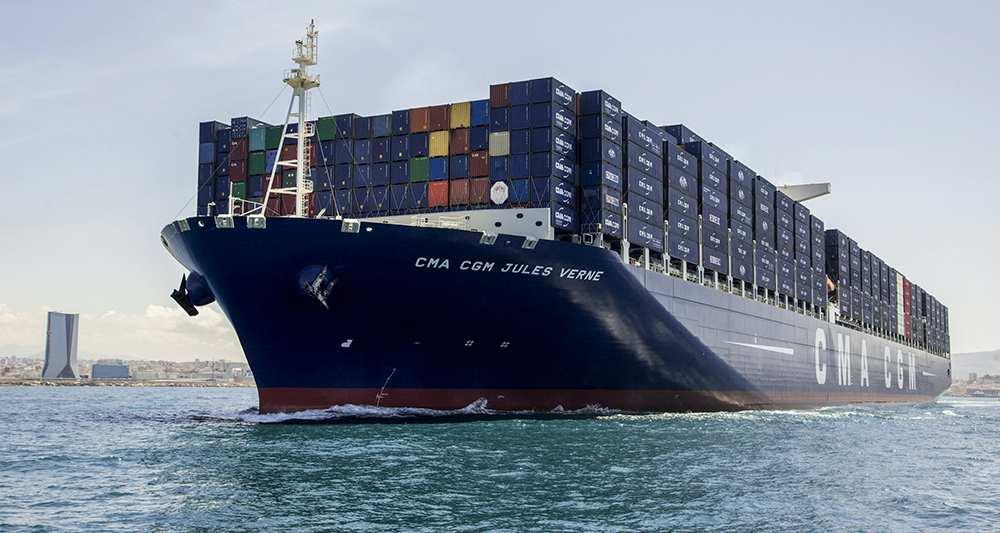 Avis de gros temps sur l 39 industrie mondiale du conteneur maritime - Le plus gros porte conteneur ...