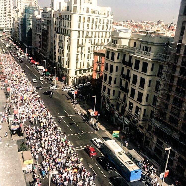 Son tantos los que han huido del socialismo,que ya es posible llenar avenidas en Madrid,los esperamos en democracia. https://t.co/tBF39ItKx1