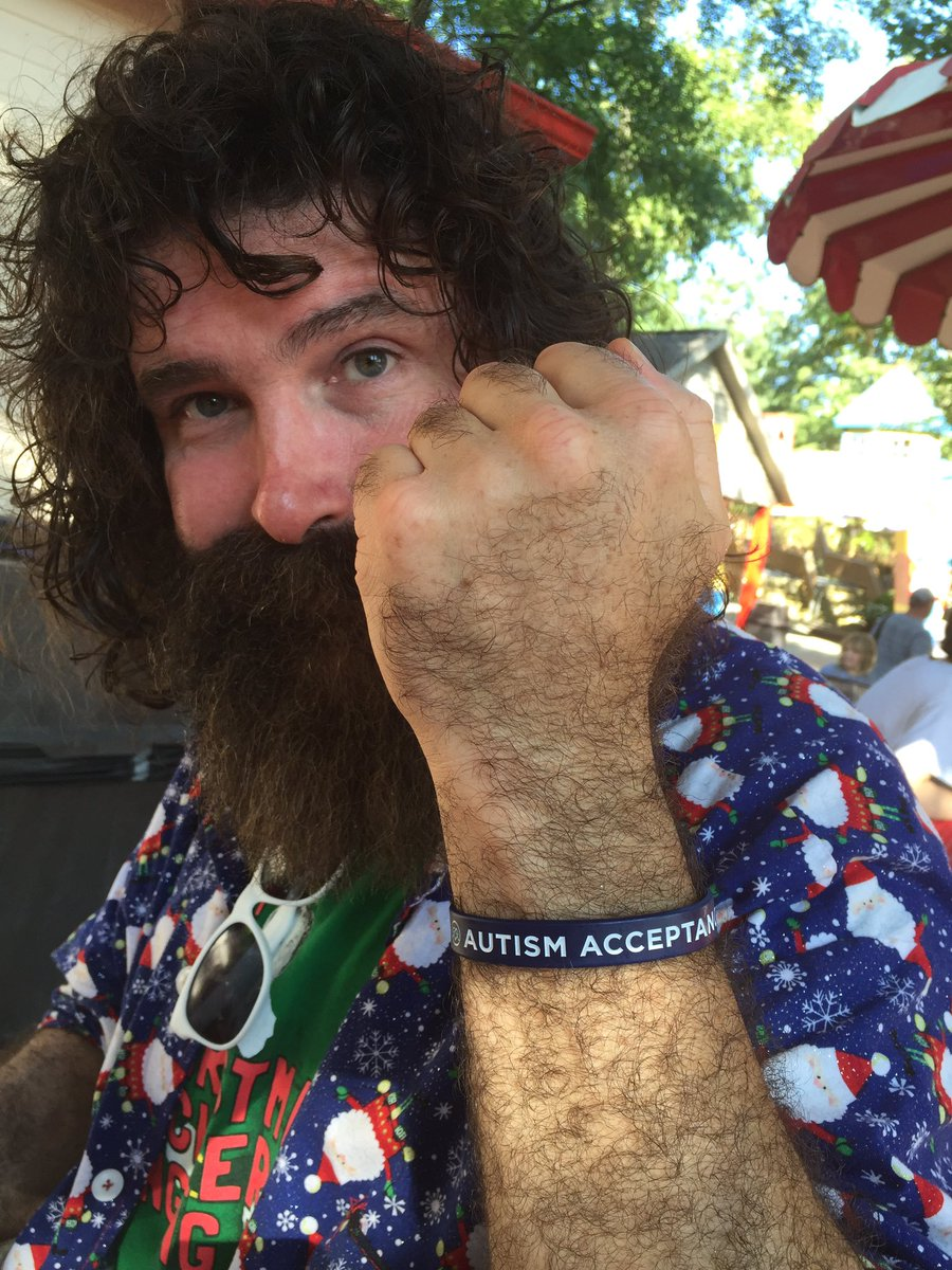 One reason why we ❤️ @RealMickFoley #AutismAcceptance @kulturec https://t.co/Lm7ZaX5hLe