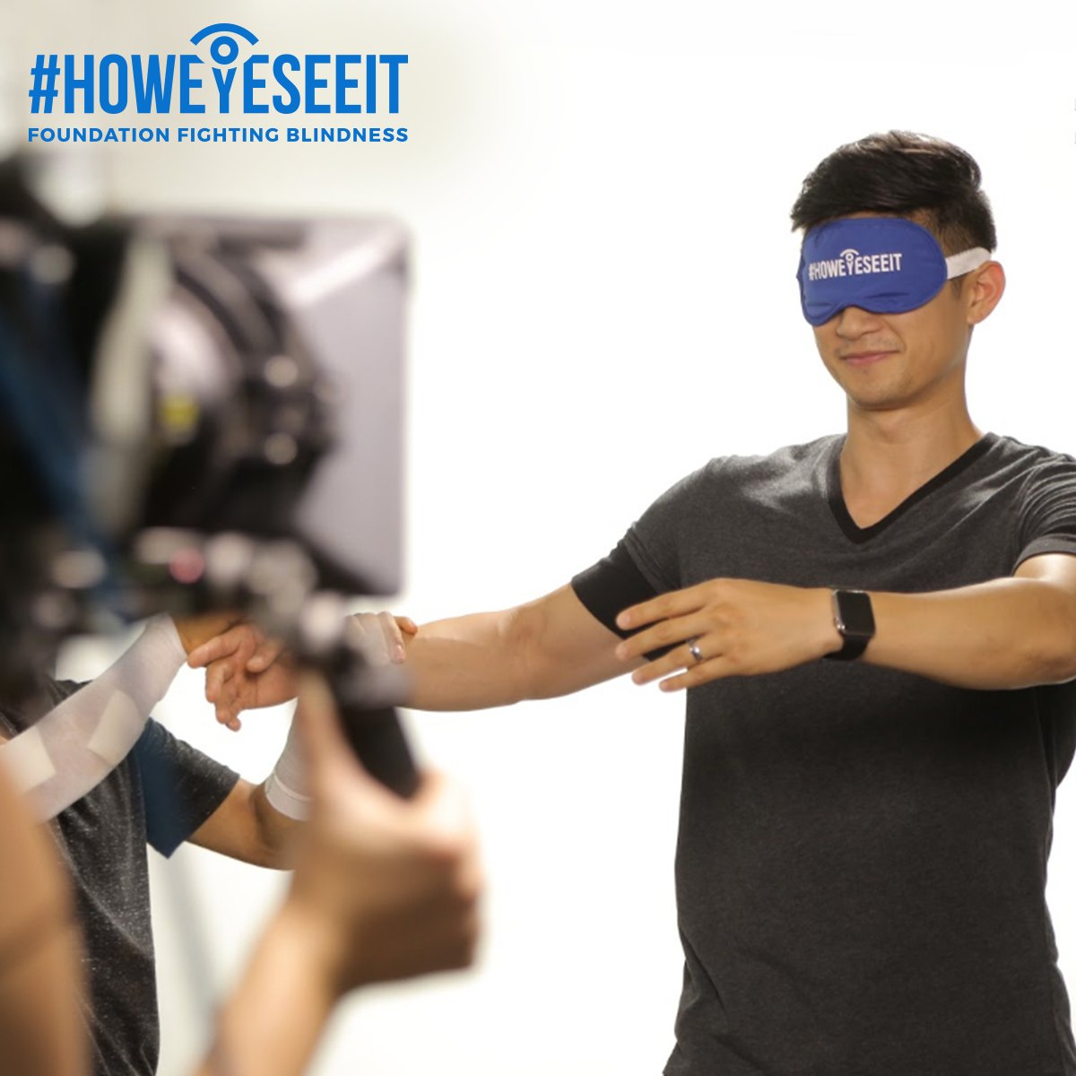 Our friend @HarryShumJr accepted the #HowEyeSeeIt challenge in support of FFB and danced without vision! https://t.co/szK684JxTd