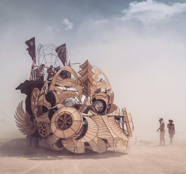 De coolste kunstwerken op Burning Man 2016. https://t.co/EMrr2zhxAY https://t.co/ocbWrwlJgo