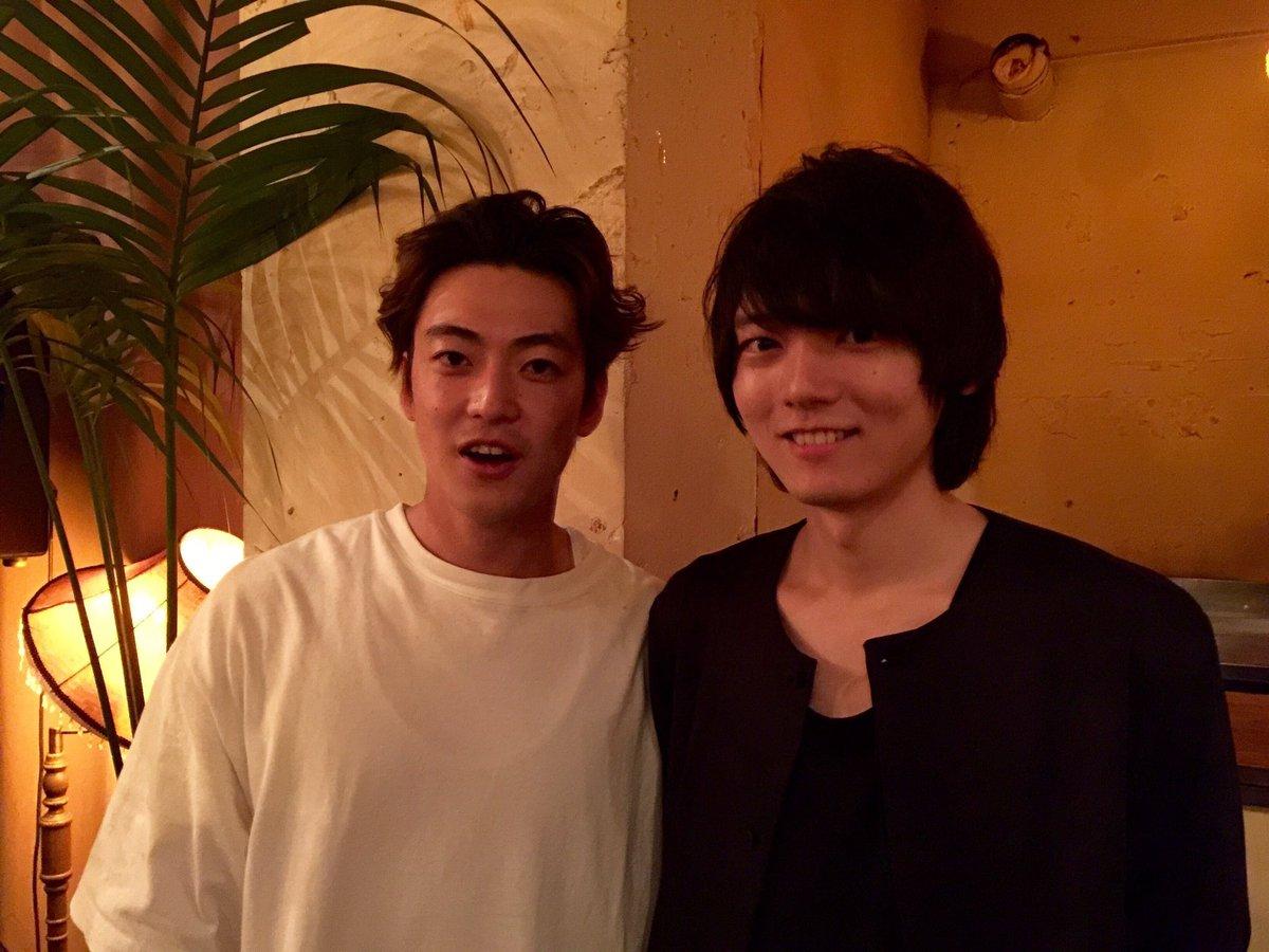 映画「曇天に笑う」打ち上げ。大東駿介さんと一枚!