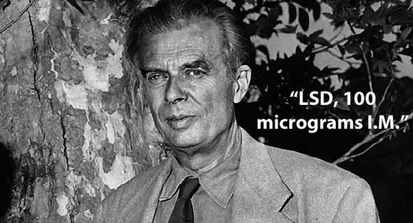 Aldous Huxley, Dying of Cancer, Dropped LSD and Comfortably Left This World https://t.co/3a7V9msc3K https://t.co/aGETScVjfl