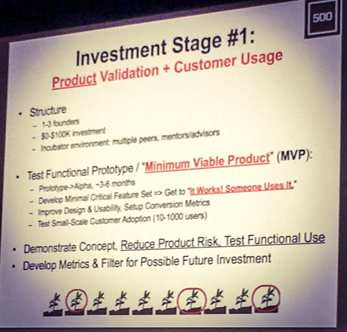 Some of best bits of great presentation by @davemcclure at #STHLMTech. Ecosystems need optimism & portfolio approach https://t.co/l6B0rteeo8