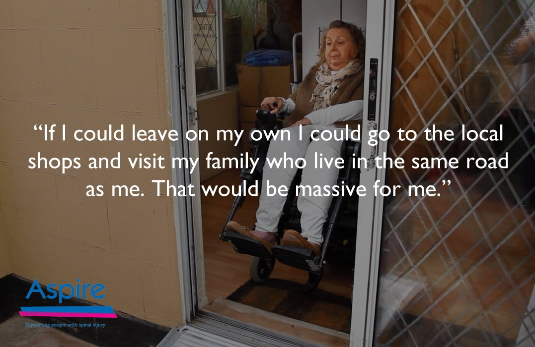 Watch our new film showing life in an #inaccessible home: https://t.co/nEjaWFBgze #accessiblehousing #WorldSCIDay https://t.co/VxYJ3DY1bm