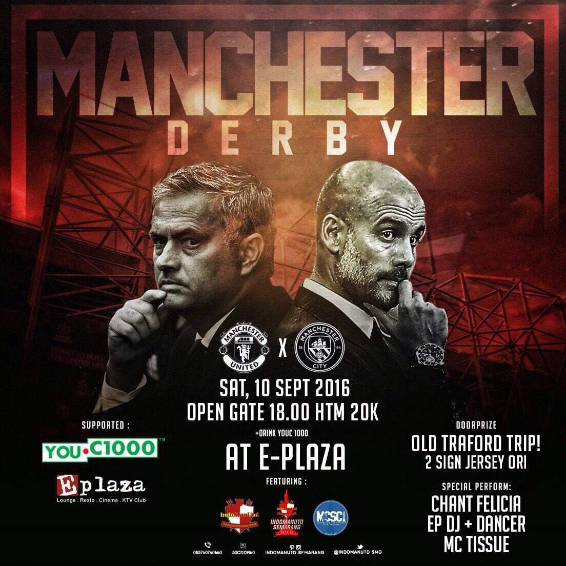 Don't miss it guys! Semarang dan sekitarnya @Indomanutd_Smg #INDOMANUTD #YOUC1000ISOTONIC #WEAREUNITEDID https://t.co/OGxWDHMnVq