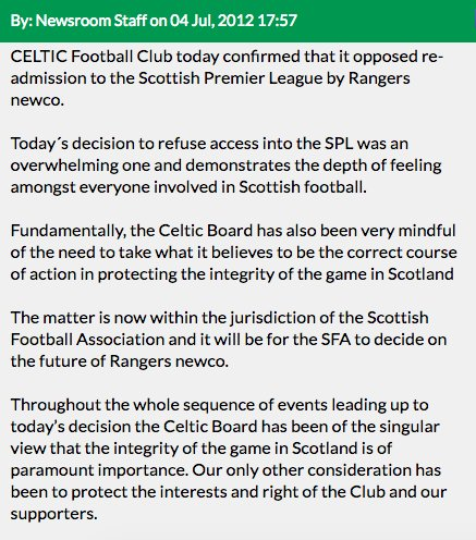 Just a reminder that the club HAVE made a statement about RFC being a newco https://t.co/Ai4qi0ZiRy