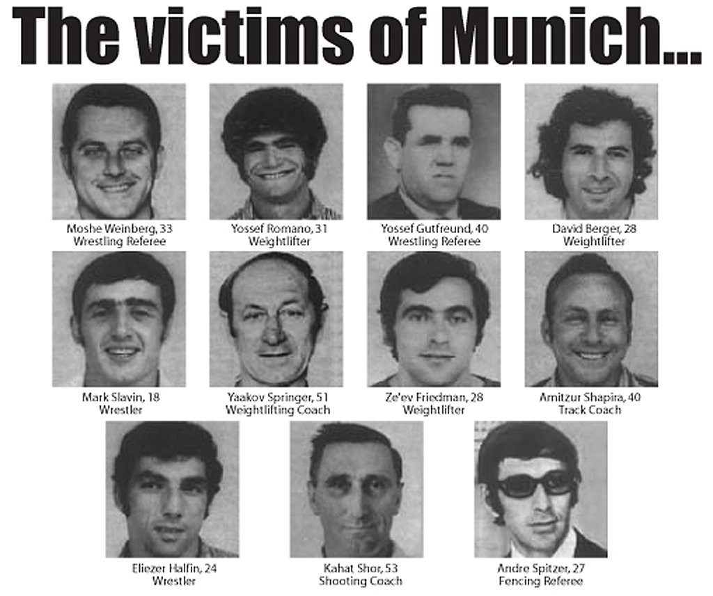 Today in 1972 Palestinian terrorists murdered 11 Israeli athletes at the Munich Olympics. https://t.co/ivAdzqx6KI