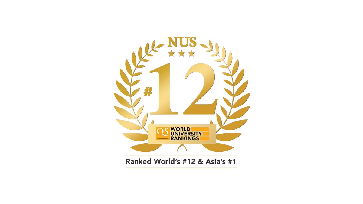 NUS is Asia's top university and 12th best globally!