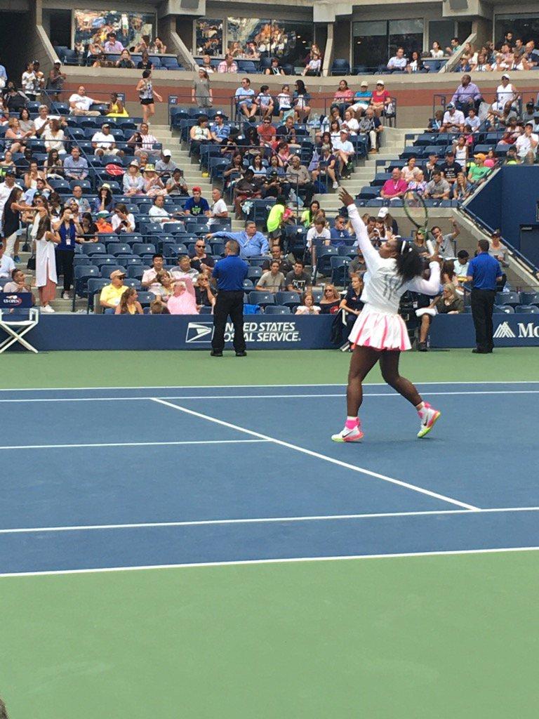 Let's Go Serena!!! https://t.co/93xoaCMDwd