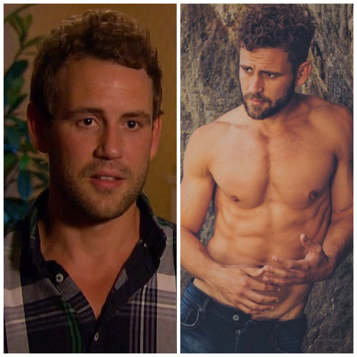 Just a visual reminder of Villain Nick from Andi's season vs The Next Bachelor Nick. #BachelorInParadise https://t.co/zRsEDXUXOP