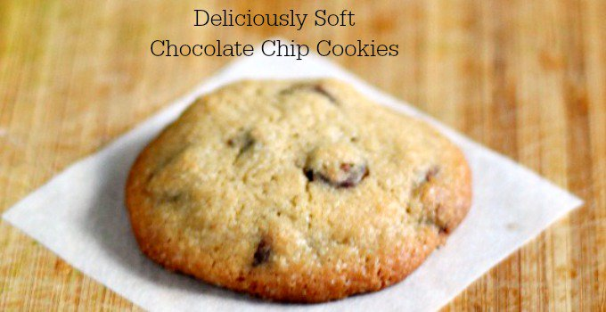 Deliciously Soft Chocolate Chip Cookies - ooey gooey and yummy!