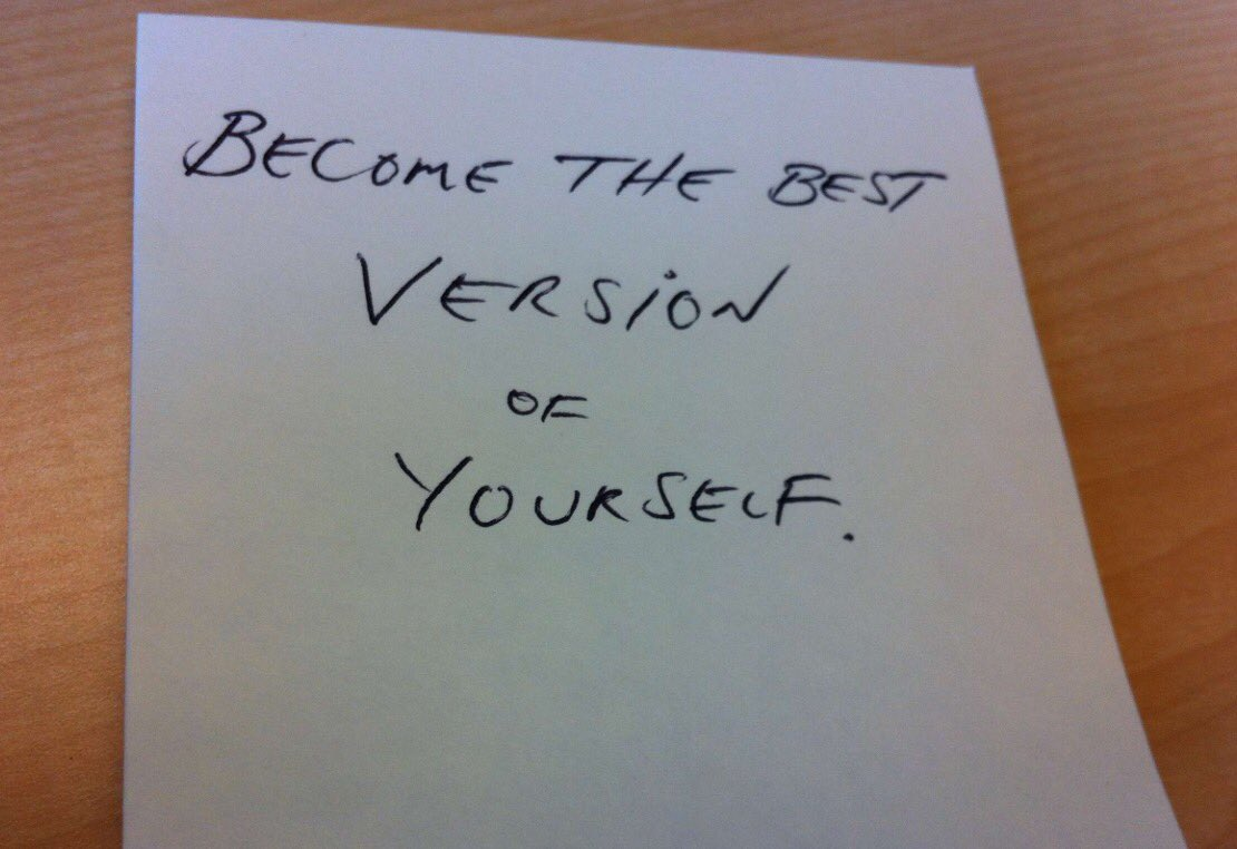 "Invest in yourself and work on yourself daily to become the best version of you"" ~ Edward Ellis https://t.co/nfRtLwIw6v"