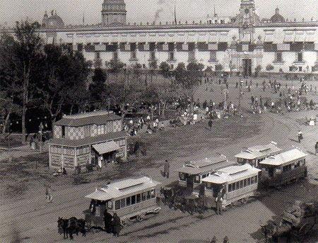 Zócalo de la Ciudad de México, 1897 cc @hdemauleon #CDMX #historia https://t.co/O0iGTVxkMp