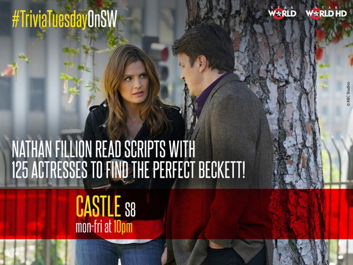 Well, @Stana_Katic was definitely brilliant as Beckett #CastleOnSW https://t.co/HXamaBRQSa